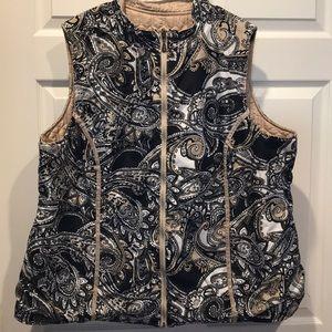 Reversible plus size vest (22/24)